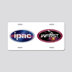 IPAC WFIRST Logo Aluminum License Plate