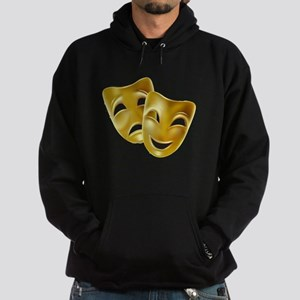 MASKS OF COMEDY & TRAGEDY Hoodie (dark)