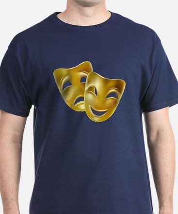 MASKS OF COMEDY & TRAGEDY T-Shirt