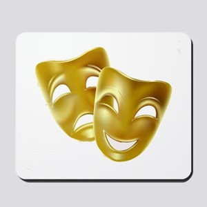 MASKS OF COMEDY & TRAGEDY Mousepad
