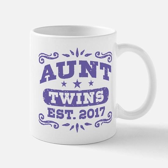 Aunt Twins Est.2017 Mug