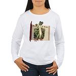 Mr. Gecko Women's Long Sleeve T-Shirt