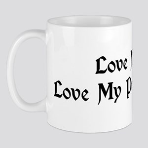 Love Me, Love My Percheron Mug