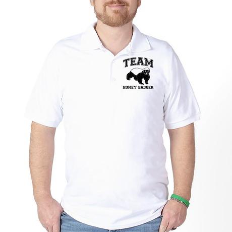 team honey badger Golf Shirt