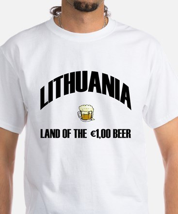 Lithuanian Beer Grey T-Shirt