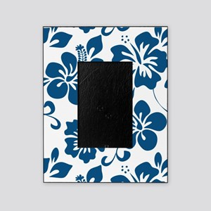 Blue Hibiscus Picture Frame