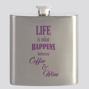 Life Coffee & Wine Flask