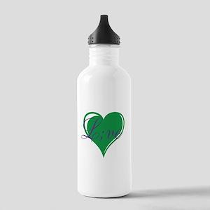 mental health awareness live Water Bottle