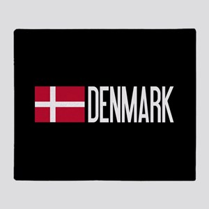 Denmark: Danish Flag & Denmark Throw Blanket