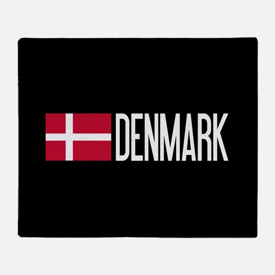 Denmark: Danish Flag & Denmark Throw Blanket