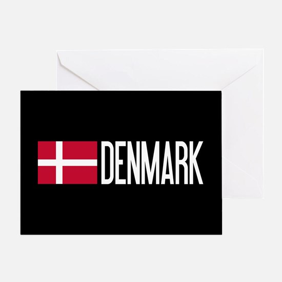 Denmark: Danish Flag & Denmark Greeting Card