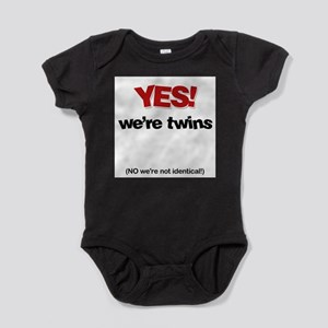 63b7c1a58 Funny Twin Baby Clothes   Accessories - CafePress