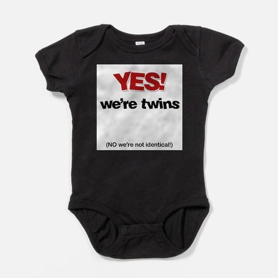 Unique Identic Baby Bodysuit