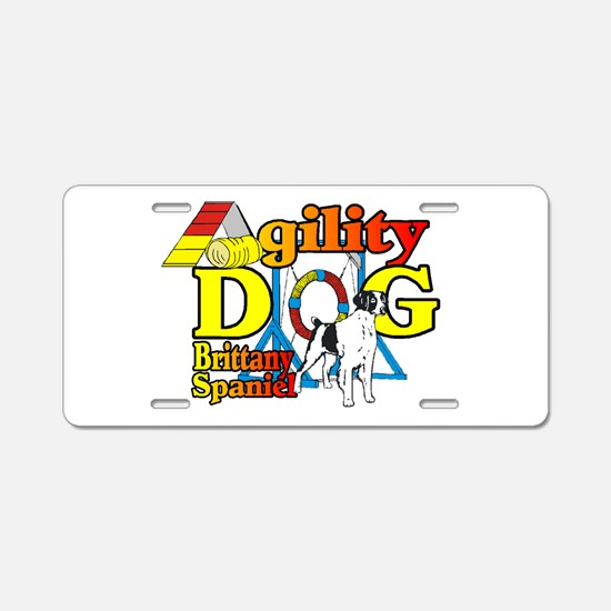 Brittany Agility Aluminum License Plate