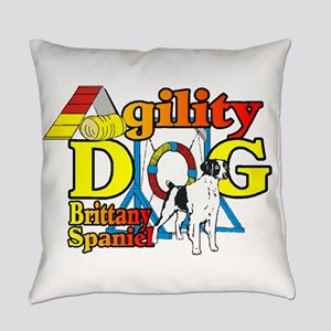 Brittany Agility Everyday Pillow