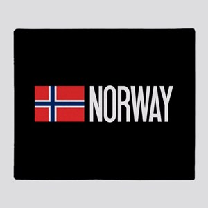 Norway: Norwegian Flag & Norway Throw Blanket