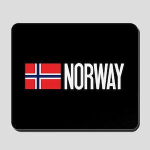 Norway: Norwegian Flag & Norway Mousepad