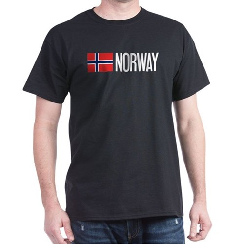Norway: Norwegian Flag & Norway T-Shirt