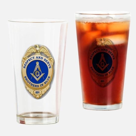 Respect & Serve Drinking Glass