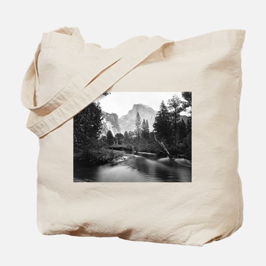 Yosemite National Park, CA - Half Dome Tote Bag