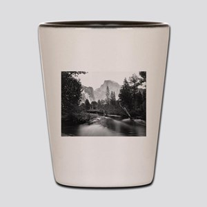 Yosemite National Park, CA - Half Dome Shot Glass