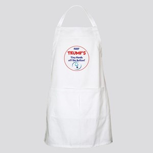 Keep Trumps tiny hands off the button. Apron