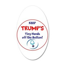Keep Trumps Tiny Hands Off Wall Decal