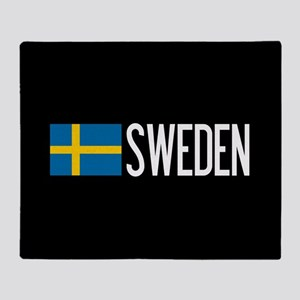 Sweden: Swedish Flag & Sweden Throw Blanket