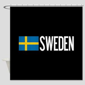 Sweden: Swedish Flag & Sweden Shower Curtain