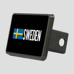 Sweden: Swedish Flag & Swe Rectangular Hitch Cover