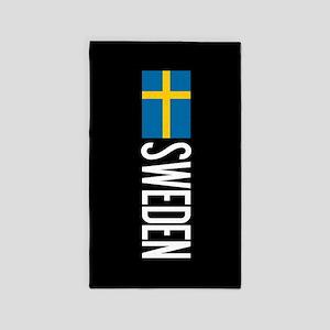 Sweden: Swedish Flag & Sweden Area Rug