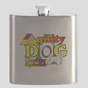 Cocker Spaniel Agility Flask