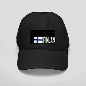 Finland: Finnish Flag & Finland Black Cap