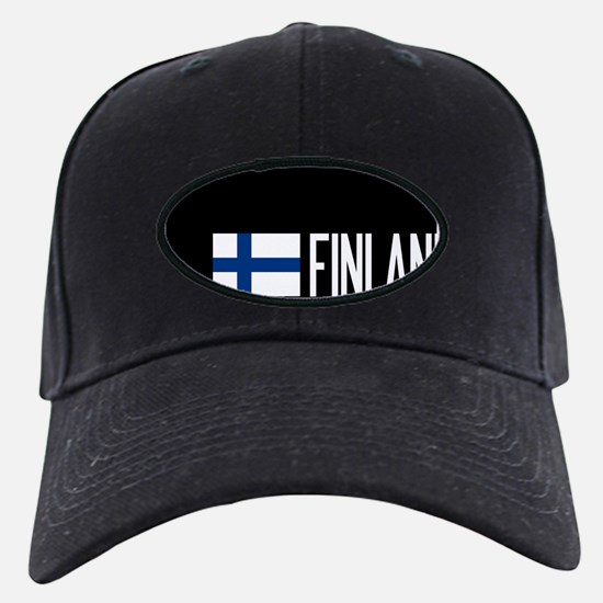Finland: Finnish Flag & Finland Baseball Hat