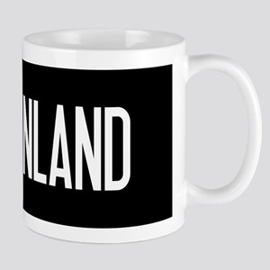Finland: Finnish Flag & Finland Mug