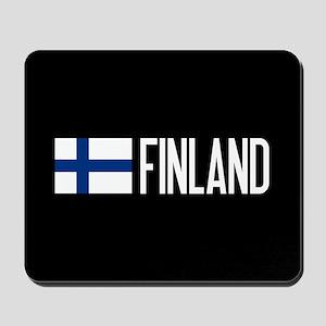 Finland: Finnish Flag & Finland Mousepad