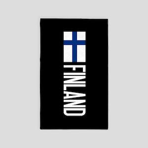 Finland: Finnish Flag & Finland Area Rug
