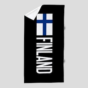 Finland: Finnish Flag & Finland Beach Towel