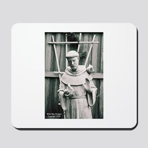 Saint Francis, the Patron Sai Mousepad