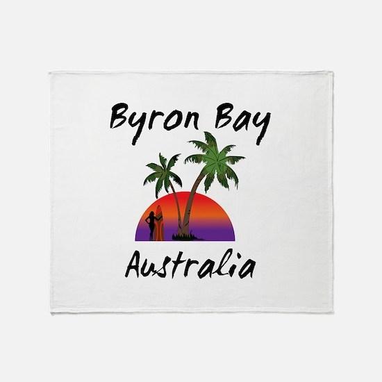 Byron Bay Australia Throw Blanket