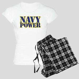 Navy Power Women's Light Pajamas