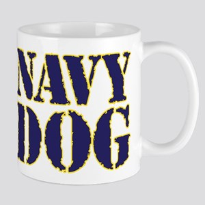 Navy Dog Mugs