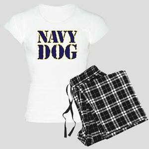 Navy Dog Women's Light Pajamas