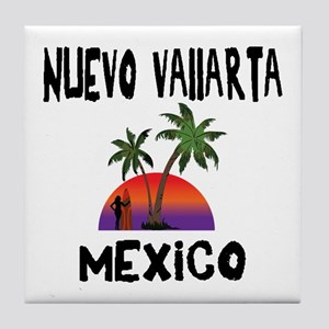 Nuevo Vallarta Mexico Tile Coaster