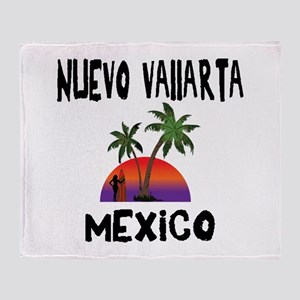 Nuevo Vallarta Mexico Throw Blanket