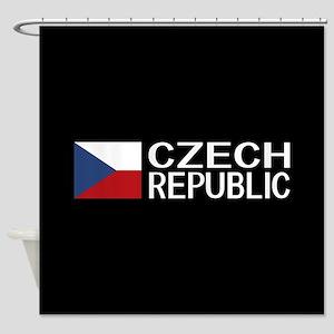 Czech Republic: Czech Flag & Czech Shower Curtain
