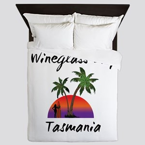 Wineglass Bay Tasmania Queen Duvet