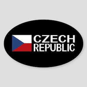 Czech Republic: Czech Flag & Czech Republi Sticker