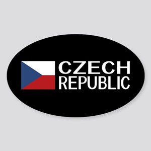 Czech Republic: Czech Flag & Czech Republi Sticker