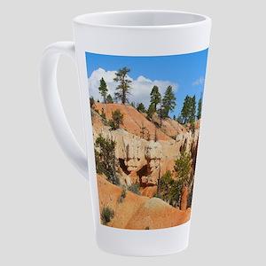Bryce Canyon hoodoos, Utah 17 oz Latte Mug